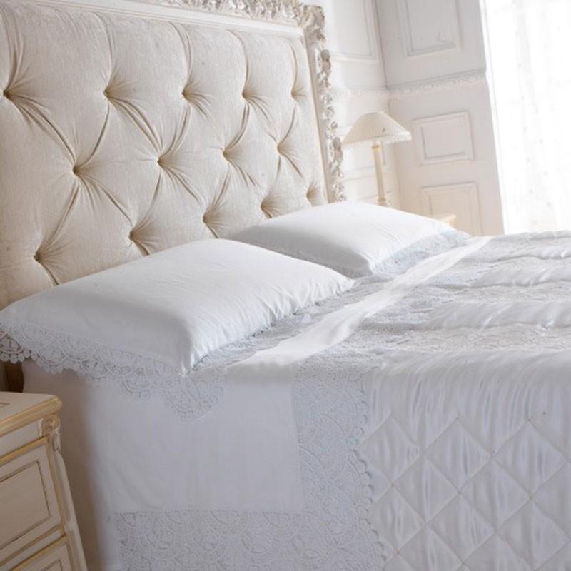Lenzuola matrimoniali in cotone 100% modello Ramona – Caprai