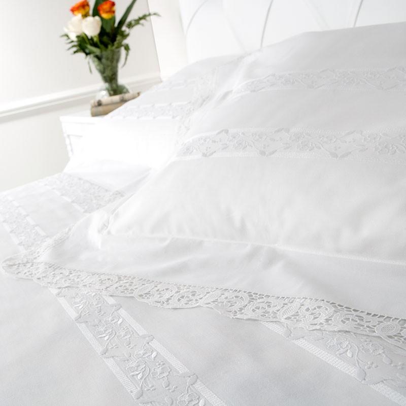 Lenzuola matrimoniali in cotone 100% modello Desirèe – Caprai
